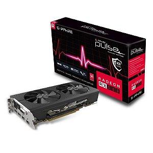 Sapphire Radeon PULSE RX 580 OC 8GB GDDR5 256 BitsHDMI / DVI-D / DUAL DP with Backplate (UEFI) PCI-E (11265-05-20G)