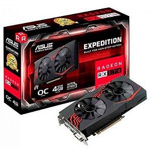 Asus Radeon Expedition RX 570 OC 4GB GDDR5 256Bit (EX-RX570-O4G)
