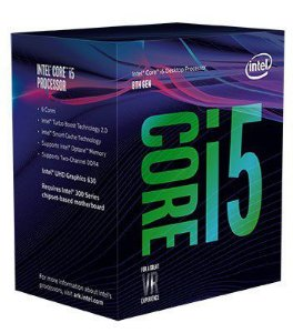 Intel Core i5-8500 Coffee Lake 6-Core 3.0 GHz (4.2 GHz Turbo) LGA 1151 (300 Series) 65W Intel UHD Graphics 630 (BX80684I58500)