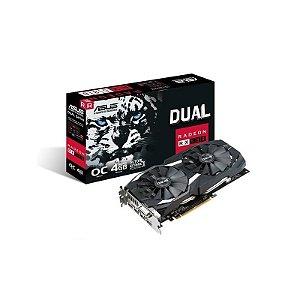 ASUS Radeon RX 580 Dual 4GB 256-Bit GDDR5 DirectX 12 HDCP Ready CrossFireX (DUAL-RX580-O4G)