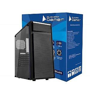 Gabinete Bluecase Gamer BG-015 Preto sem Fonte USB 3.0 Frontal