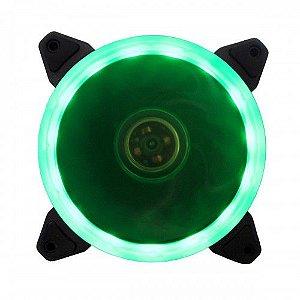 Fan Ring Bluecase Gamer 120mm Verde BFR-05G