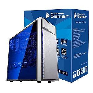 Gabinete Bluecase Gamer BG-015 Branco sem Fonte USB 3.0 Frontal