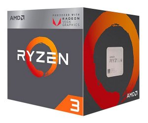 AMD Ryzen 3 2200G Quad Core 3.5GHz (3.7GHz Max Turbo) Cache 6MB c/ Wraith Stealth Cooler Radeon VEGA AM4 (YD2200C5FBBOX)