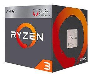 AMD Ryzen 3 2200G Quad Core 3.5GHz (3.7GHz Max Turbo) Cache 6MB c/ Wraith Stealth Cooler Radeon VEGA AM4 (YD2200C5FBBOX)
