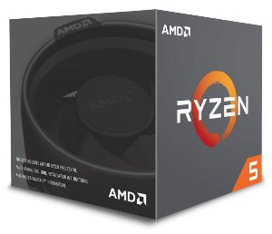 AMD Ryzen 5 2600 Six Core 3.4GHz (3.9GHz Max Turbo) Cache 19MB c/ Wraith Stealth Cooler AM4 (YD2600BBAFBOX)