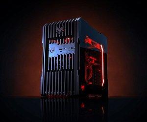 Myth Gamer ZEDD Intel 8º Geração i3 8100 3.6 GHZ/ 8gig DDR4 2400Mhz / SSD 120Gig / Gforce GTX 1050 2Gig / Fonte 400W 80 Plus bronze /  Gab ZEDD Acrílico