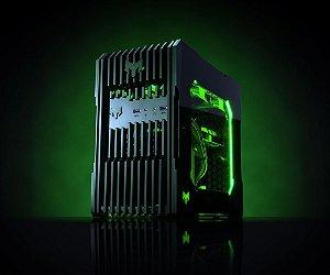 Myth Gamer ZEDD Intel 8º Geração i3 8100 3.6 GHZ/ 8gig DDR4 2400Mhz / SSD 120Gig / Gforce GT 1030 2Gig / Fonte 400W 80 Plus bronze /  Gab ZEDD Acrílico