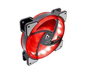 Fan Alseye D-Ringer Lighting 120MM LED Vermelho (DR-120-SR)