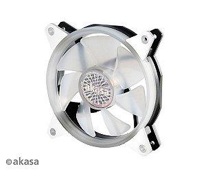 Fan Akasa VegasR 120MM 33 LEDs Branco (AK-FN097-WH)