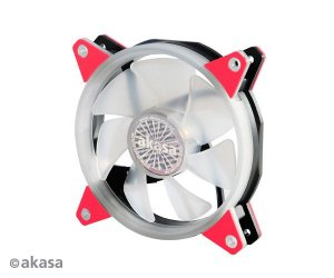 Fan Akasa VegasR 120MM 33 LEDs Vermelho (AK-FN097-RD)