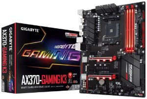 Gigabyte GA-AX370-Gaming K3 AMD X370 DDR4 SATA 6Gb/s USB 3.1 HDMI ATX AM4