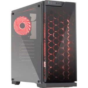 Gabinete DT3 Sports Edge Glass Mid Tower Preto