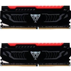 Patriot Viper LED 16GB (2 x 8GB) DDR4 3000MHz DRAM CL15 1.35V Red Extreme Performance (PVLR416G300C5K)