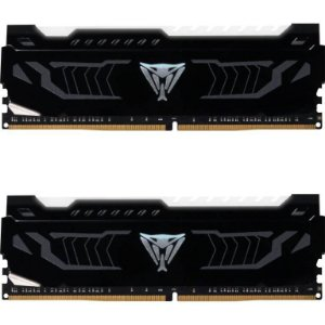 Patriot Viper LED 16GB (2 x 8GB) DDR4 3200MHz DRAM CL16 1.35V White Extreme Performance (PVLW416G320C6K)