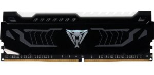 Patriot Viper LED 8GB (1 x 8GB) DDR4 3200MHz DRAM CL16 1.35V White Extreme Performance (OEM) (PVLW416G320C6K)