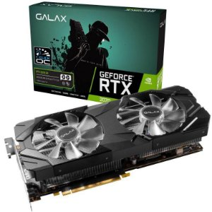 GALAX GeForce RTX 2070 1-Click OC 8GB GDDR6 256-Bit DX12 PCI Express 3.0 x16 (27NSL6MPX2VE)