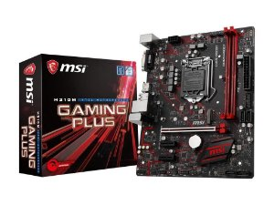 MSI H310M GAMING PLUS LGA 1151 (300 Series) Intel H310 HDMI SATA 6Gb/s Micro ATX Intel