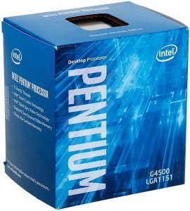 Intel Pentium G4500 Kaby Lake Dual-Core 3.5 GHz LGA 1151 54W Intel HD Graphics 530 (BX80662G4500)