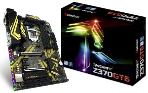 Biostar Racing Z370GT6 LGA 1151 (300 Series) Intel Z370 HDMI SATA 6Gb/s USB 3.1 USB Type-C ATX