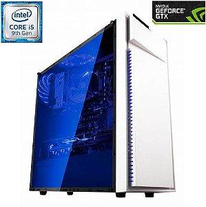 PC Gamer GUERRA Intel Core i5 9400F / GTX 1660 6GB / Mem. DDR4 8Gig / SSD 240GB / Fonte 500W