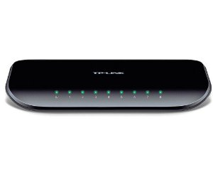 Switch TP-Link 8 Portas 10/100/1000 Gigabit (TL-SG1008D)