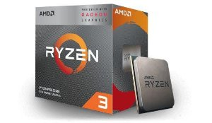 AMD RYZEN 3 3200G 4-Core 3.6 GHz (4.0 GHz Max Boost) Socket AM4 65W  (YD3200C5FHBOX)