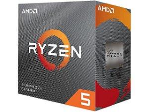AMD Ryzen 5 3600 6-CORE 12-THREAD 3.6GHz (4.2GHz Max Turbo) Cache L3 32MB c/ Wraith Stealth Cooler AM4 (YD3600BBAFBOX)