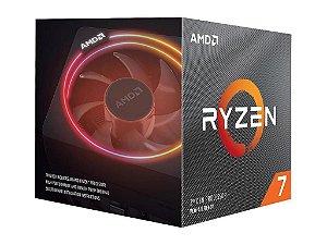 AMD Ryzen 7 3700X 8-Core 16-Thread 3.6 GHz (Max Turbo 4.4GHz) Cache 32MB c/ Cooler Wraith Prism RGB AM4 (YD370XBGAFBOX)