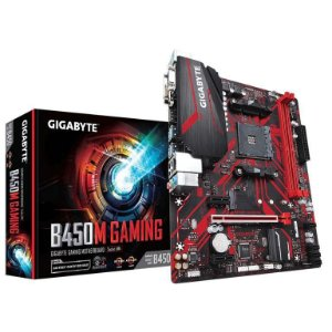Gigabyte B450M Gaming AM4 B450 DDR4 SATA 6Gb/s USB 3.1 HDMI Micro ATX