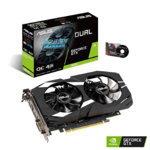 ASUS GeForce GTX 1650 Overclocked 4GB Dual Fan Edition HDMI DP 1.4 DVI (DUAL-GTX1650-O4G)