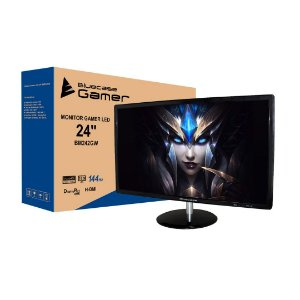 "Monitor Gamer Bluecase LED 24"" Widescreen Full HD HDMI/Display Port FreeSync 144HZ 1MS (BM242GW)"