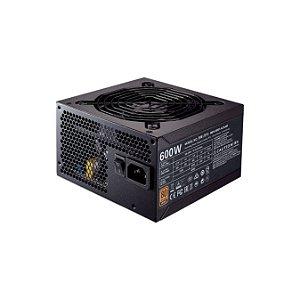 Cooler Master 600W 80 Plus Bronze MWE (MPX-6001-ACAAB-BR)