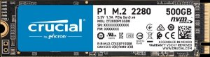Crucial P1 SSD M.2 500GB 3D NAND NVMe PCIe (CT500P1SSD8)