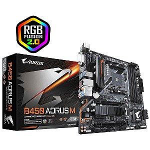 Gigabyte B450 Aorus M AM4 AMD B450 SATA 6Gb/s Micro ATX