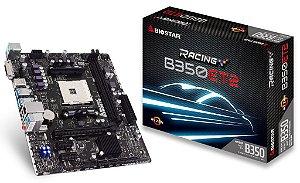 BIOSTAR B350ET2 AM4 AMD B350 SATA 6Gb/s USB 3.1 HDMI Micro ATX