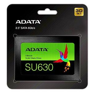 "SSD Adata Ultimate SU630, 480GB, 2.5"" QLC 3D NAND Sata III (ASU630SS-480GQ-R)"