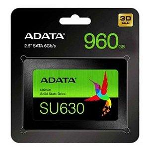 "SSD Adata Ultimate SU630, 960GB, 2.5"" QLC 3D NAND Sata III (ASU630SS-960GQ-R)"