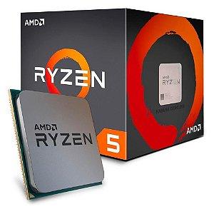 AMD RYZEN 5 1600AF 6-Core 3.2 GHz (3.6 GHz Turbo) Cache 16MB c/ Cooler Wraith Spire Socket AM4 65W (YD1600BBAFBOX)