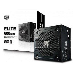 Cooler Master Elite V3 600W, PFC Ativo (MPW-6001-ACAAN1-WO)