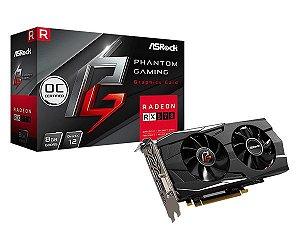 Asrock Radeon Phantom Gaming RX570 8G OC GDDR5 256 Bits (90-GA0N20-00UANF)