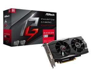 Asrock Radeon Phantom Gaming RX570 4G OC GDDR5 256 Bits (90-GA0K10-00UANF)