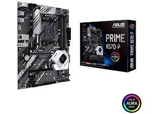 ASUS Prime X570-P AM4 PCIe Gen4, Dual M.2 HDMI, SATA 6Gb/s USB 3.2 Gen 2 ATX