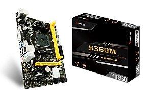 BIOSTAR B350M AM4 AMD B350 SATA 6Gb/s USB 3.1 HDMI Micro ATX