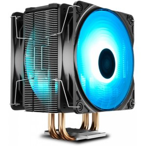 Cooler Deepcool Gammaxx 400 PRO 4 Heatpipes 120mm PWM 2 x Fan c/ Blue LED (DP-MCH4-GMX400PRO-BL)
