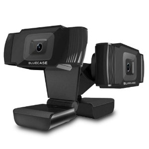 Webcam Bluecase Full HD 1080p Preta (BWEB1080P-01)
