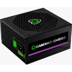Fonte Gamemax GM550 550W, 80 Plus Bronze, PFC Ativo, Black (GM550)