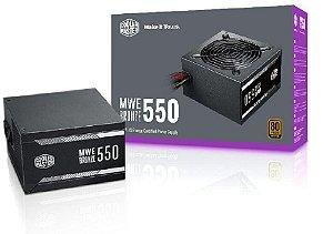Cooler Master 550W 80 Plus Bronze MWE (MPX-5501-ACAAB-W0)