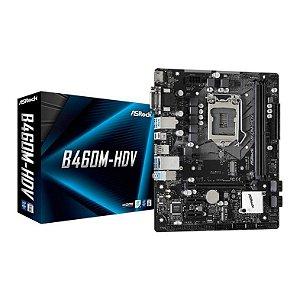 AsRock B460M-HDV Intel LGA 1200 Chipset B460M DDR4 mATX (90-MXBD30-A0UAYZ)