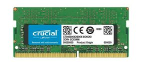 Memória Note Crucial 8GB DDR4 2666 (PC4 21300) 204-Pin SO-DIMM (CT8G4SFS8266)